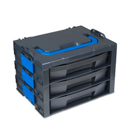 i-BOXX Rack G 3-comp. incl. LS-Drawer