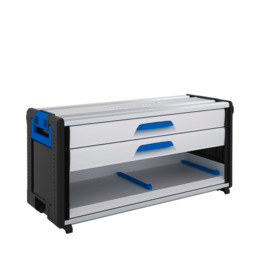 WorkMo 44-500 with 2 drawers & plastic slides