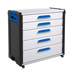 WorkMo 34-750 with 5 drawers