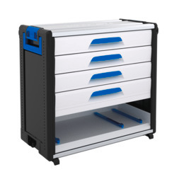 WorkMo 34-750 with 4 drawers & plastic slides