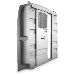 ABS - Ford Transit Medium Roof with Sliding Door and Window