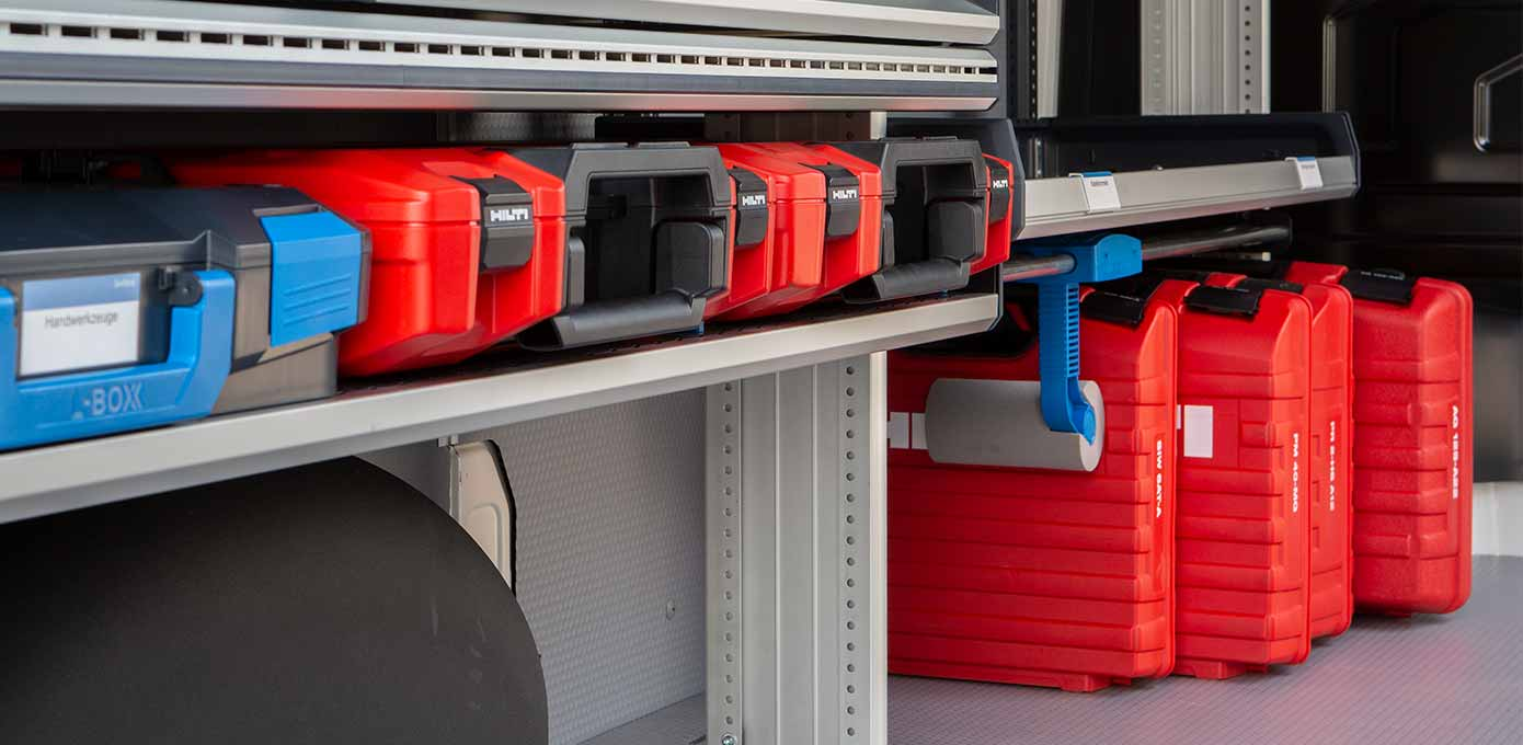 Van racking SR5 is compatible with other manufacturers